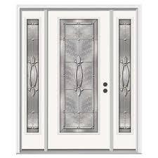 full glass entry door 62 x 80 front doors exterior doors the home depot