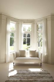 Bay Window Treatment Ideas by Window Bay Window Curtain Ideas Kitchen Curtains For Bay