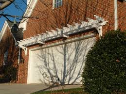 nenny pergola over garage door plans