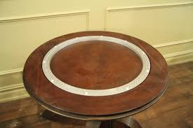 extra large round mahogany perimeter table and buffet