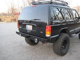 prerunner jeep comanche amazon com elite rear bumper jeep cherokee xj automotive
