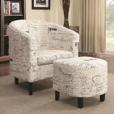 Armchair Ottoman Set A Plus Home Furnishings Accent Seating Two Piece Accent Chair