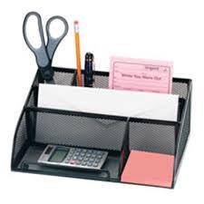Office Depot Desk Organizer Office Depot Brand Metro Mesh Angled Desk Organizer Black Blk
