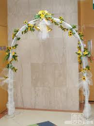 wedding arches using tulle tulle covered wedding arches the wedding specialiststhe wedding