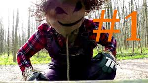 funny halloween pranks scarecrow u0027s prank very scary youtube