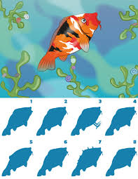 fish coloring pages drawing for kids reading u0026 learning kids