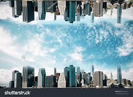 cityscape backdrop abstract cityscape on sky stock photo 520121617