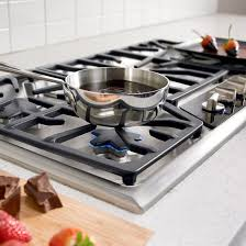 Ge 30 Inch Gas Cooktop Kitchen The Thermador 30 Inch Black Gas Cooktop With Remodel Great