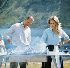 princess anne princess anne often helped her father prince philip run the bbq
