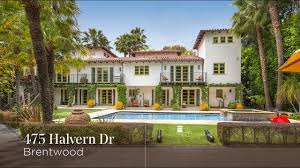 beautiful brentwood estate 475 halvern dr youtube