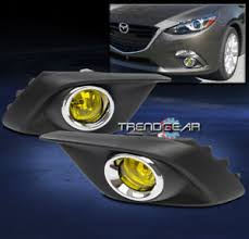 2016 mazda 3 fog light kit 2014 2016 mazda 3 mazda3 bumper driving fog light yellow w bulb