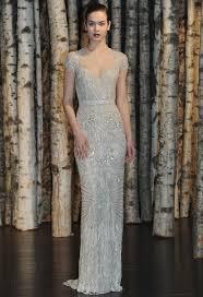 silver wedding dress color inspiration shining silver wedding ideas modwedding