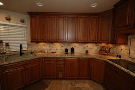 starmark cherry cabinets with harvest stain and chocolate glaze