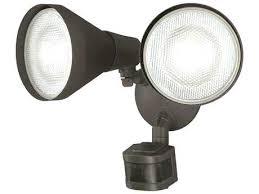 led outdoor sensor spotlights housetohome co