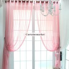 Sheer Pink Curtains Pink Sheer Curtains Scalisi Architects
