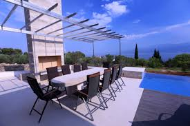 olive garden family private accommodation luxury villa olive garden brac with pool