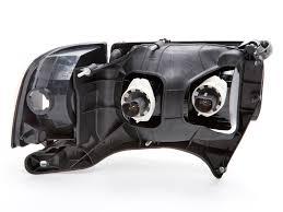 02 dodge ram headlights 1999 2001 dodge ram sport headlights w halogen type xenon bulbs at