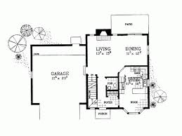 corner lot floor plans eplans colonial house plan ideal for smaller or corner lot