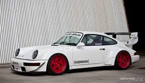 porsche 911 turbo 90s the cost and rewards of building an rwb drivingline