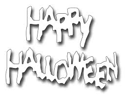 Happy Halloween Graphics by Frantic Stamper Precision Die Spooky Happy Halloween