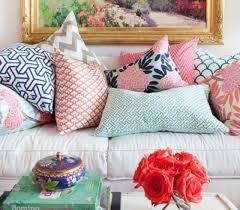 Beautiful Sofa Pillows by This Formula For Combining Throw Pillows Is Foolproof The Accent