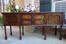 English Oak Sideboard Antique Oak Sideboard Ebay