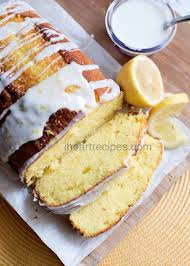 lemon loaf pound cake i heart recipes