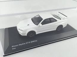 nissan white car 1 64 nissan skyline gtr r34 white u2013 car 79 diecast collections
