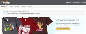 merch by amazon tutorial how to get started creating your own t