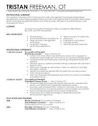 healthcare resume template occupational resume healthcare resume template occupational