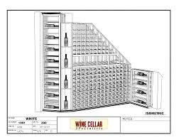 custom wine rooms chicago illinois horizontal label forward