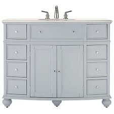 home decorators collection hampton harbor 45 in w vanity in dove