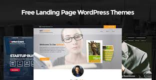 free landing page wordpress themes for landing page websites