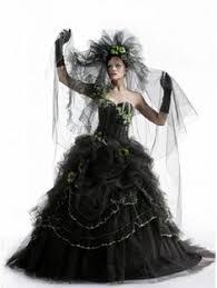 Black Wedding Dress Halloween Costume Custom Corpse Bride Wedding Dress Costume Tim Burton Themed