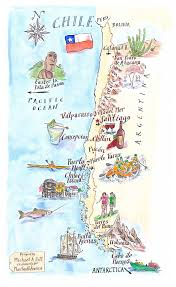 Map Chile 99 Best Chile Maps Images On Pinterest Chile Latin America And