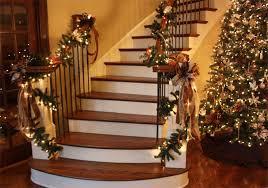 Handrail Christmas Decorations Elegant Christmas House Decorations U2013 Happy Holidays