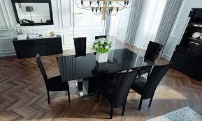 Black Gloss Dining Room Furniture High Gloss Black Dining Room Furniture Zhis Me