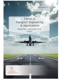 trends in transport engineering and applications vol 3 issue 3