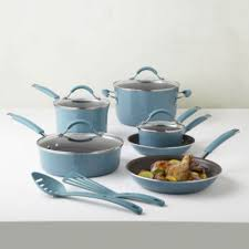 rachael cucina 12 pc porcelain cookware set