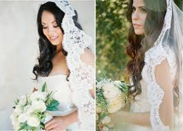 hairstyles with mantilla veil match your wedding veil with a bridal hairstyle how to choose a