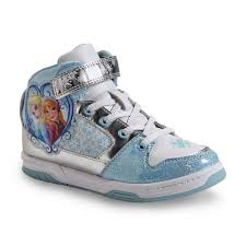 disney store frozen elsa light up shoes disney frozen s white blue high top shoe