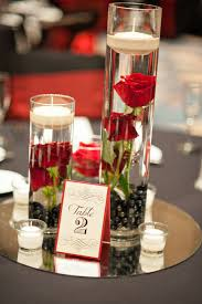 Red Roses Centerpieces Real Wedding Kerry And Steve U0027s Skull And Roses Wedding