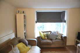 top 15 bay window roller blinds curtain ideas