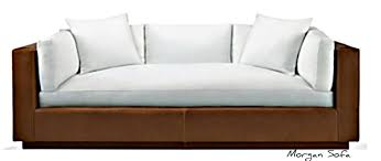 Modern Wooden Sofa Bed Leather Sofa Courtney Out Loud