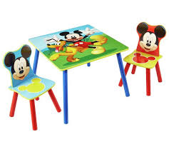 Mickey Mouse Chairs Buy Disney Mickey Mouse Table And 2 Chairs At Argos Co Uk Your