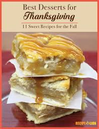 thanksgiving goodies recipes the best desserts for thanksgiving 11 sweet recipes for the fall