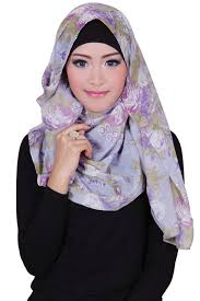 model jilbab model jilbab modern pashmina aliya mix grey sheilla collection