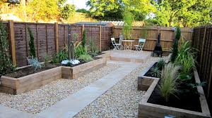 garden design ideas low maintenance video and photos