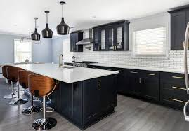 black kitchen countertops with white cabinets beautiful black kitchen cabinets design ideas designing idea