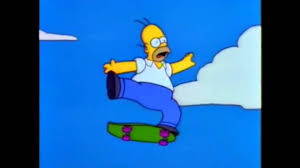 homer the simpsons homer jumps springfield gorge uncut version youtube